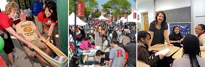 Rutgers serves the state and its residents